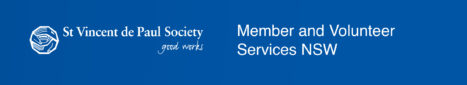 Vinnies NSW Member and Volunteer Services